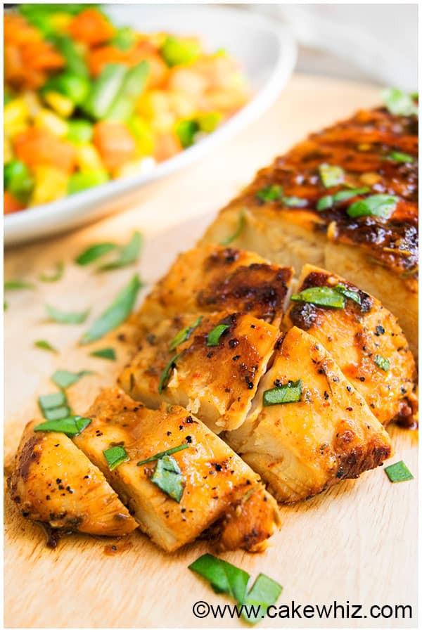 Baked Chicken Marinade  Easy Grilled Chicken Marinade CakeWhiz