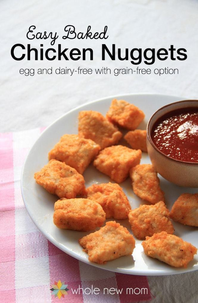 Baked Chicken Nuggets Recipe  Fall in Love with Gluten Free – Life After Wheat