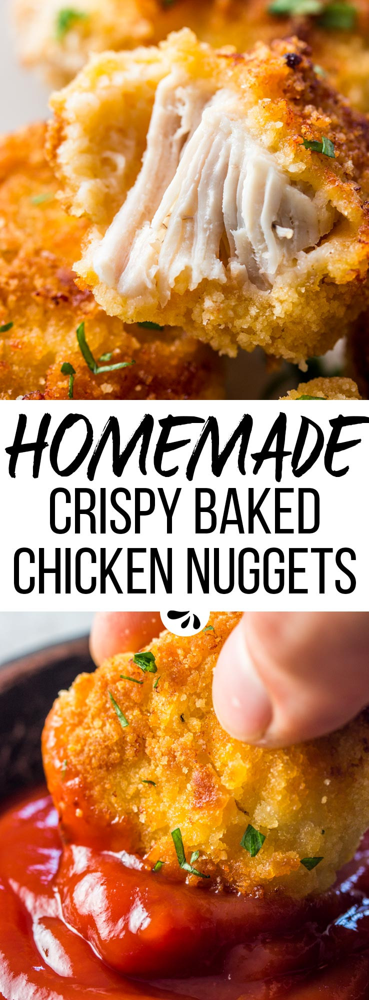 Baked Chicken Nuggets Recipe  Healthy Baked Chicken Nug s Homemade Fast Food