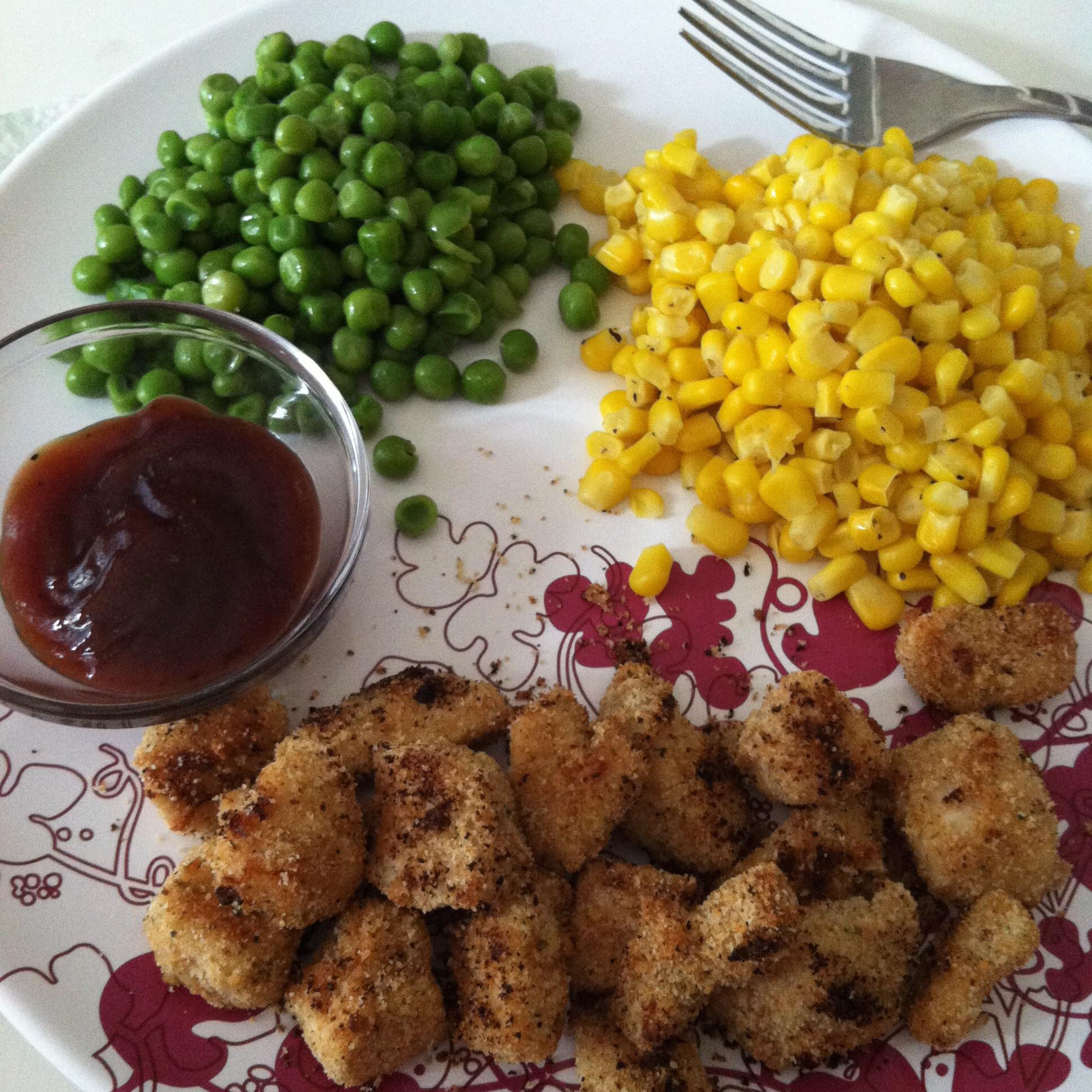 Baked Chicken Nuggets Recipe  Skinnytaste Healthy Baked Chicken Nug s BigOven