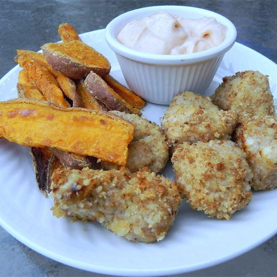 Baked Chicken Nuggets Recipe  Baked Chicken Nug s recipe All recipes UK