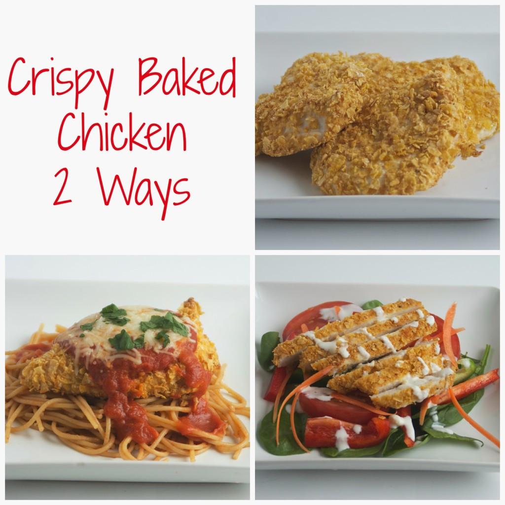 Baked Chicken Nutrition  Crispy Baked Chicken 2 Ways Bite of Health Nutrition
