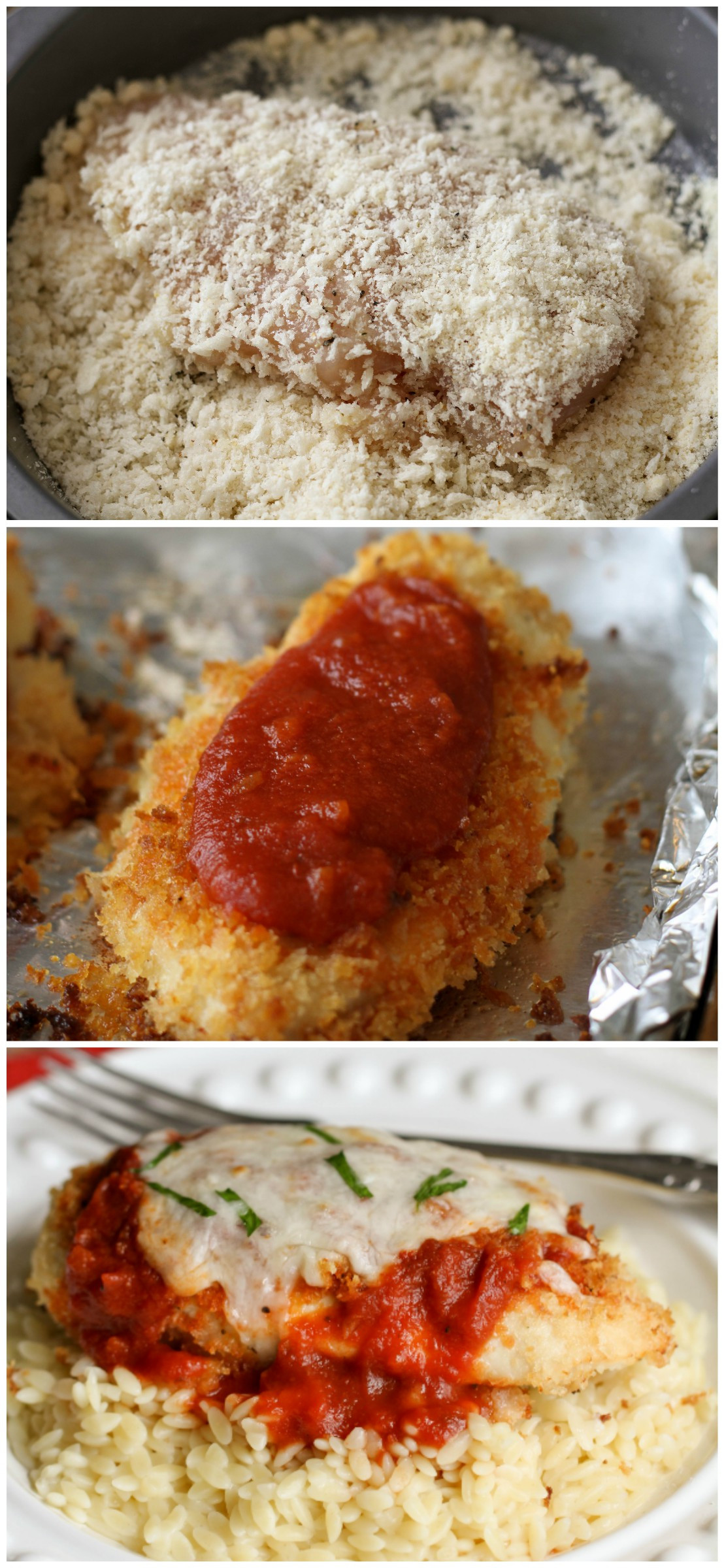 Baked Chicken Parmesan Recipe  Baked Chicken Parmesan