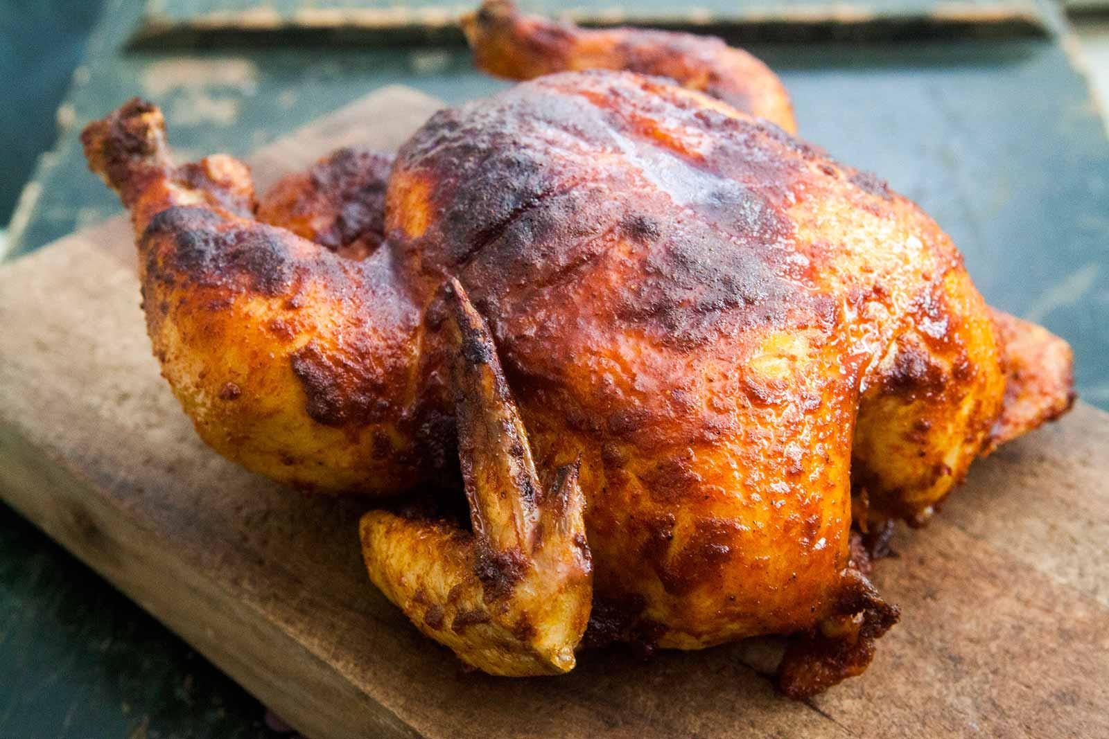 Baked Chicken Whole  Smoked Paprika Roast Chicken Recipe