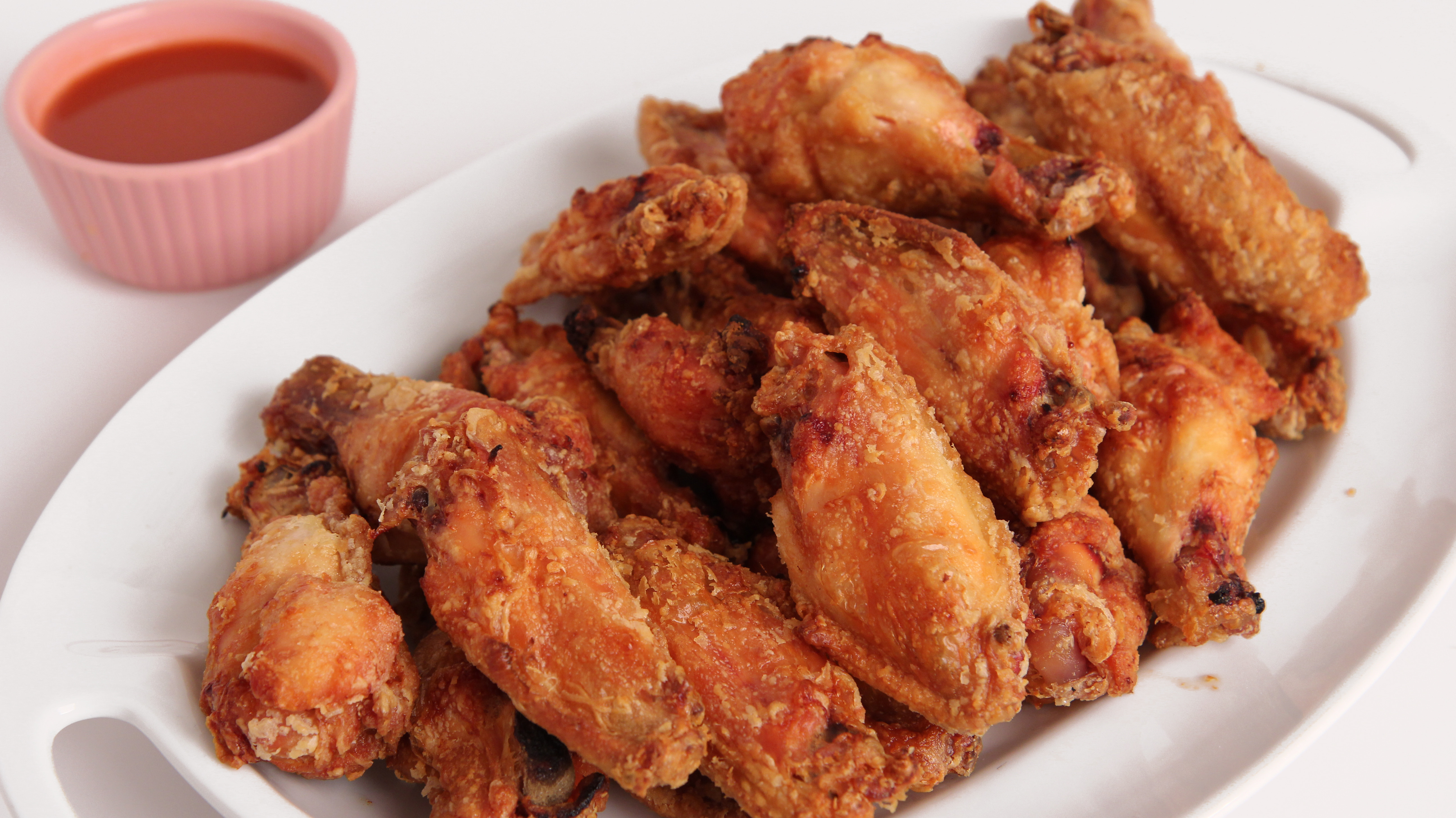 Baked Chicken Wings Crispy  Love chicken These are the only simple recipes you ll