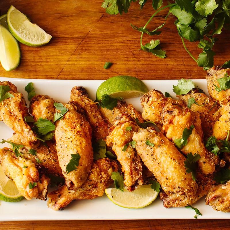 Baked Chicken Wings Crispy  Crispy Baked Chicken Wings FMITK From My Impossibly