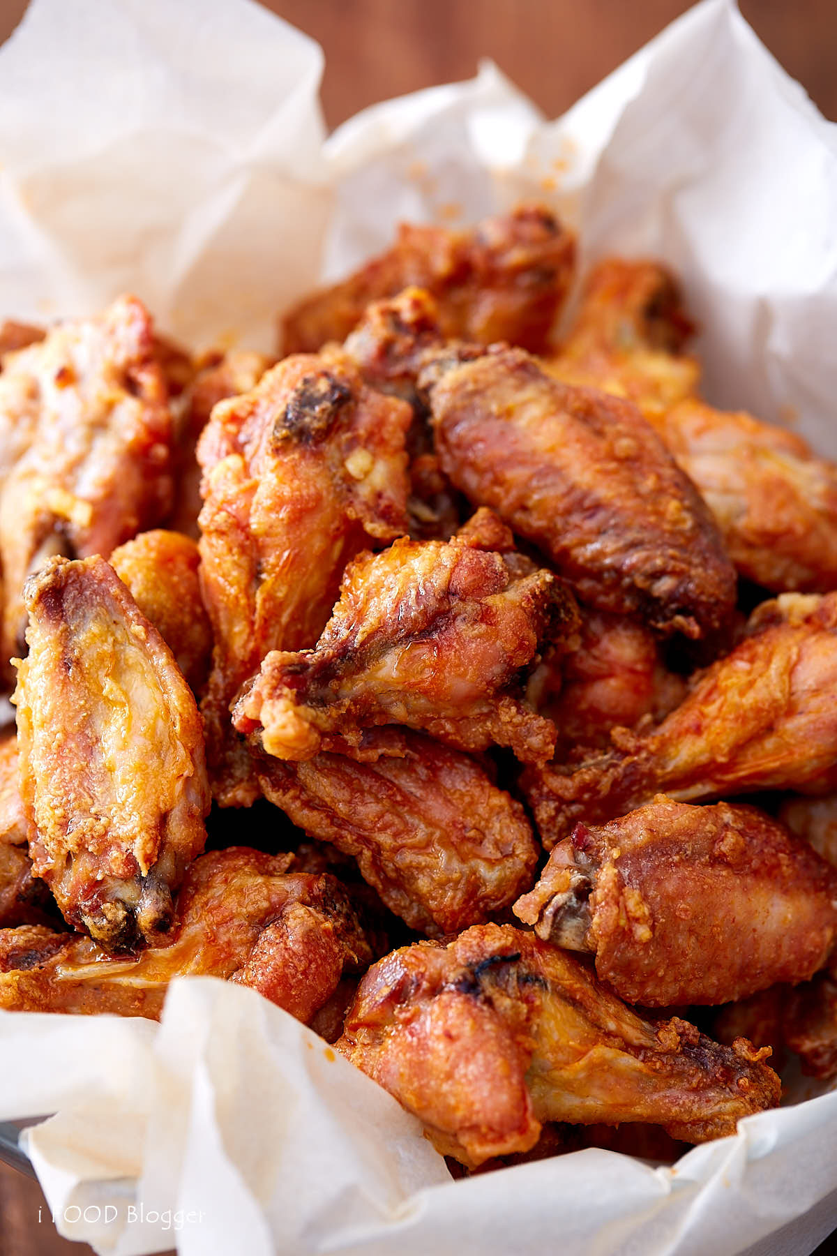 Baked Chicken Wings Crispy  Extra Crispy Baked Chicken Wings i FOOD Blogger