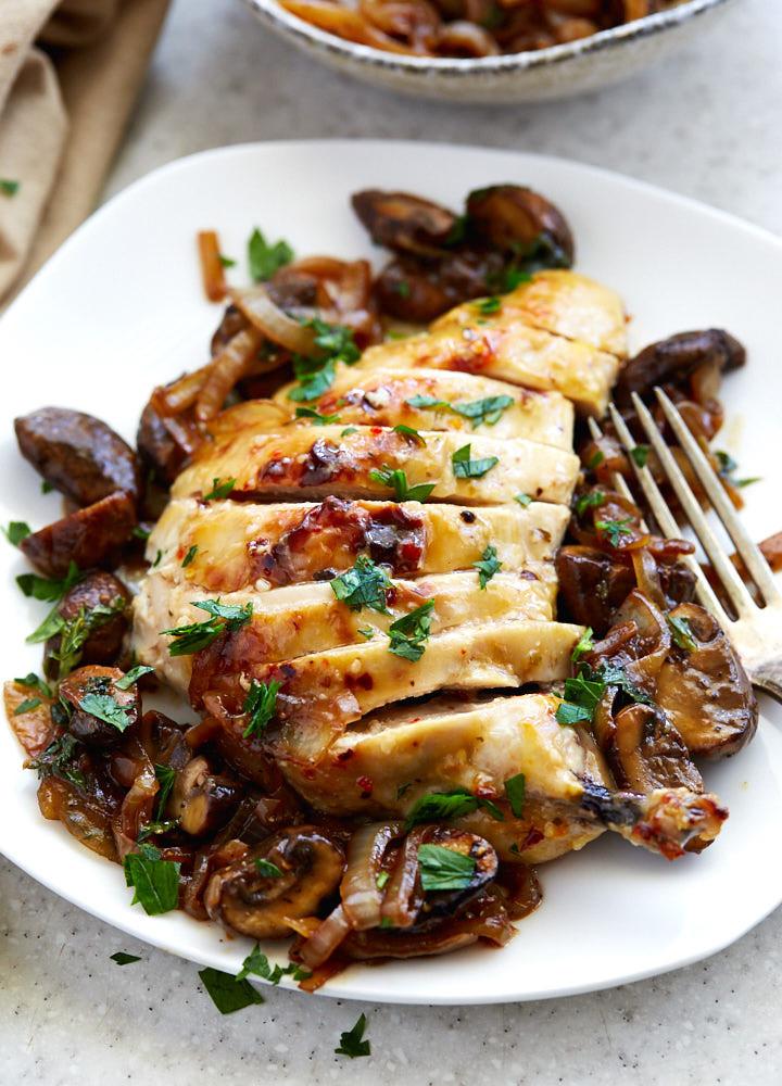 Baked Chicken With Italian Dressing  Italian Dressing Chicken Breast i FOOD Blogger