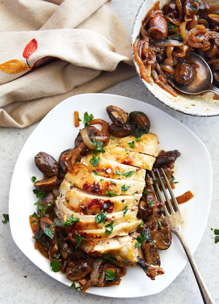 Baked Chicken With Italian Dressing  baked chicken breast italian dressing
