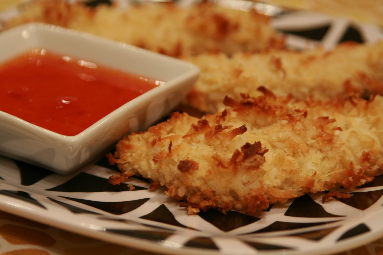 Baked Coconut Chicken  Cook Bake & Decorate Baked Coconut Chicken Tenders w a