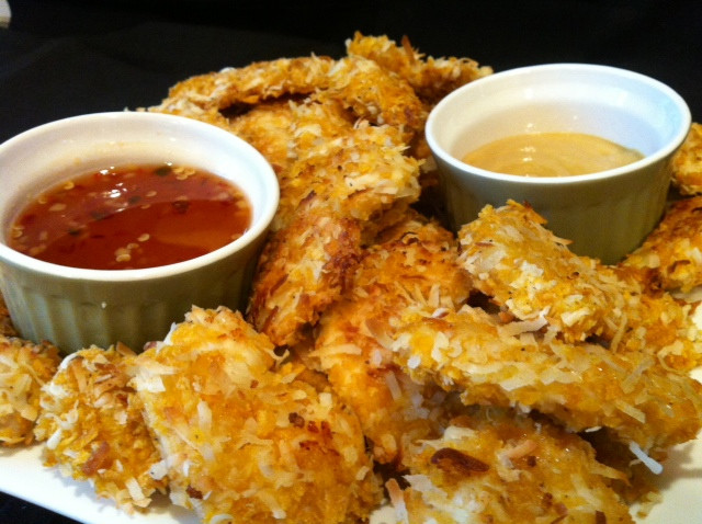 Baked Coconut Chicken  Heavenly Baked Coconut Chicken Something Sweet Something