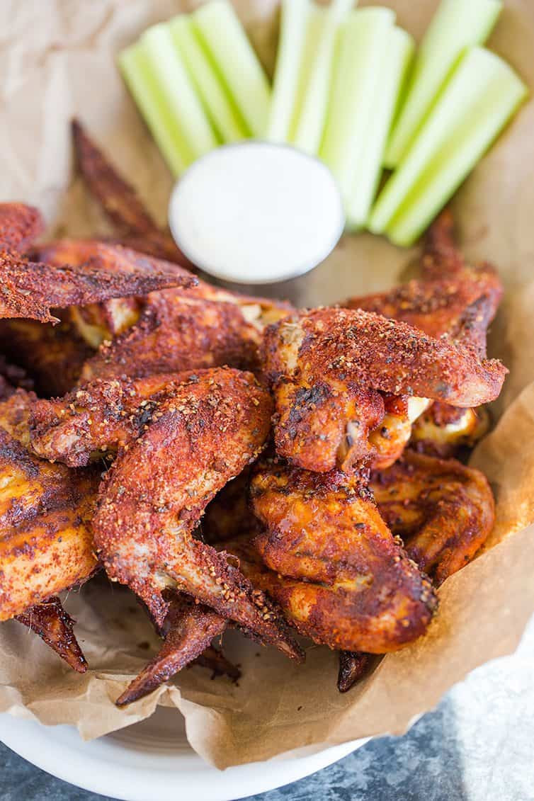 Baked Crispy Chicken Wings  Crispy Baked Chicken Wings