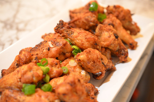 Baked Crispy Chicken Wings  Crispy Spicy Oven baked Chicken Wings