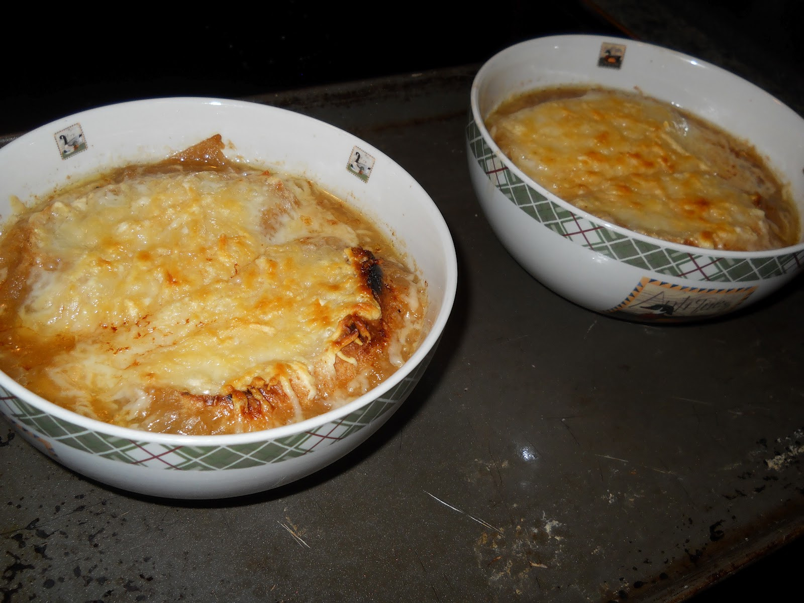 Baked French Onion Soup  In Mama Joe s Shadow Cooking With Adele s Best Recipes