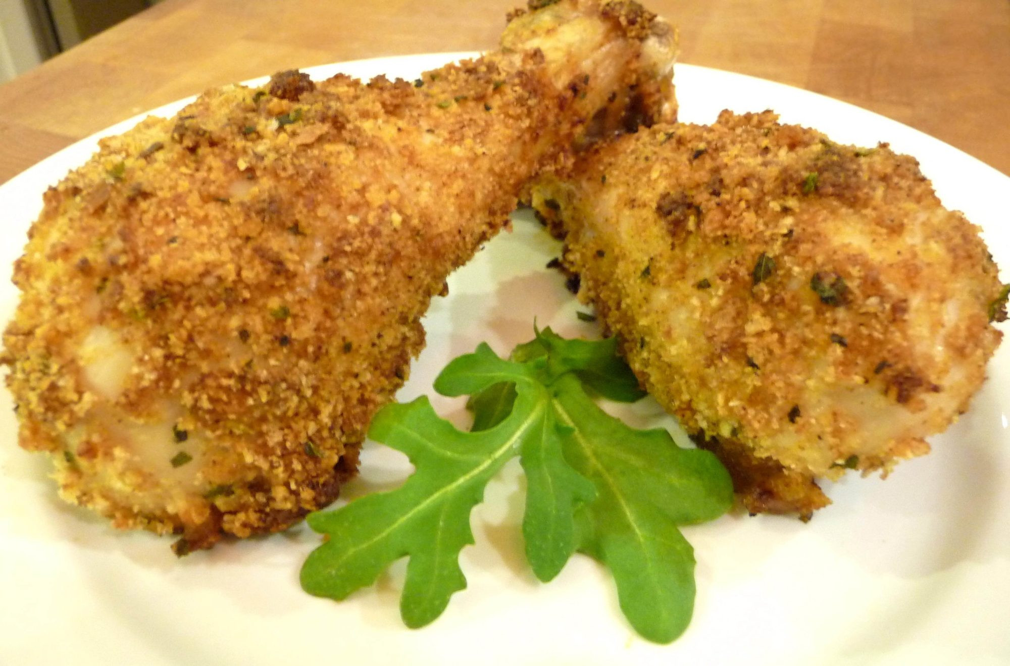 Baked Fried Chicken  Oven Baked Fried Chicken GF Option The Nourishing Home