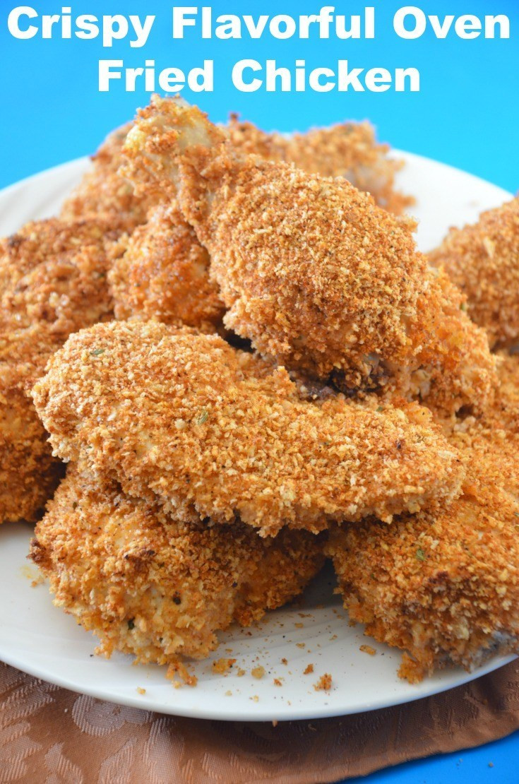 Baked Fried Chicken  Crispy Baked Fried Chicken Recipes for our Daily Bread