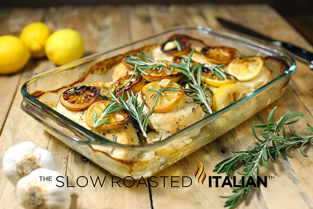 Baked Lemon Chicken Breast  Rosemary Lemon Roasted Chicken Breasts With Video