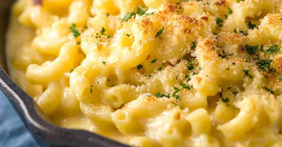 Baked Mac And Cheese Recipes With Bread Crumbs  Baked Macaroni and Cheese with Bread Crumb Topping