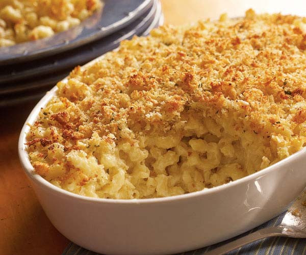 Baked Mac And Cheese Recipes With Bread Crumbs  Classic Baked Macaroni & Cheese Recipe FineCooking