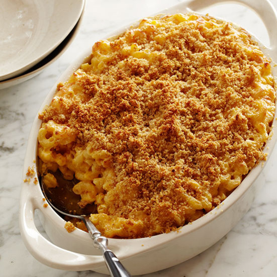 Baked Mac And Cheese Recipes With Bread Crumbs  Macaroni and Cheese with Buttery Crumbs Recipe Grace