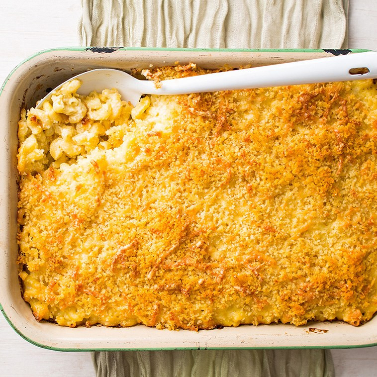 Baked Macaroni And Cheese Recipes With Bread Crumbs  macaroni and cheese bread crumb topping