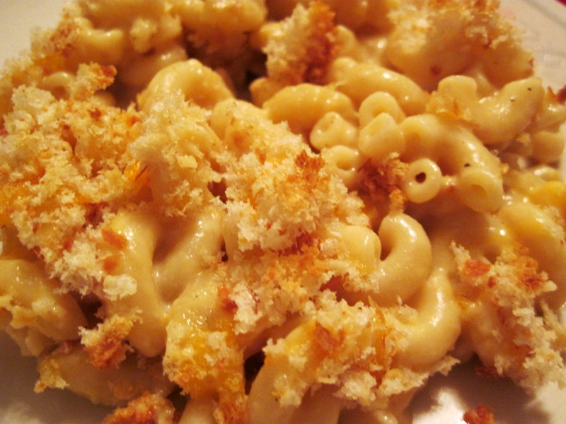 Baked Macaroni And Cheese Recipes With Bread Crumbs  Baked Bacon Salt Mac & Cheese