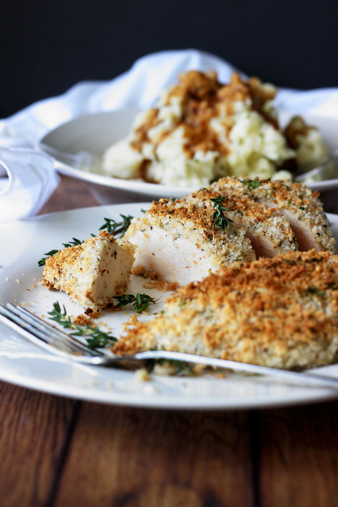 Baked Parmesan Crusted Chicken  Baked Parmesan and Herb Crusted Chicken The Cooking Jar
