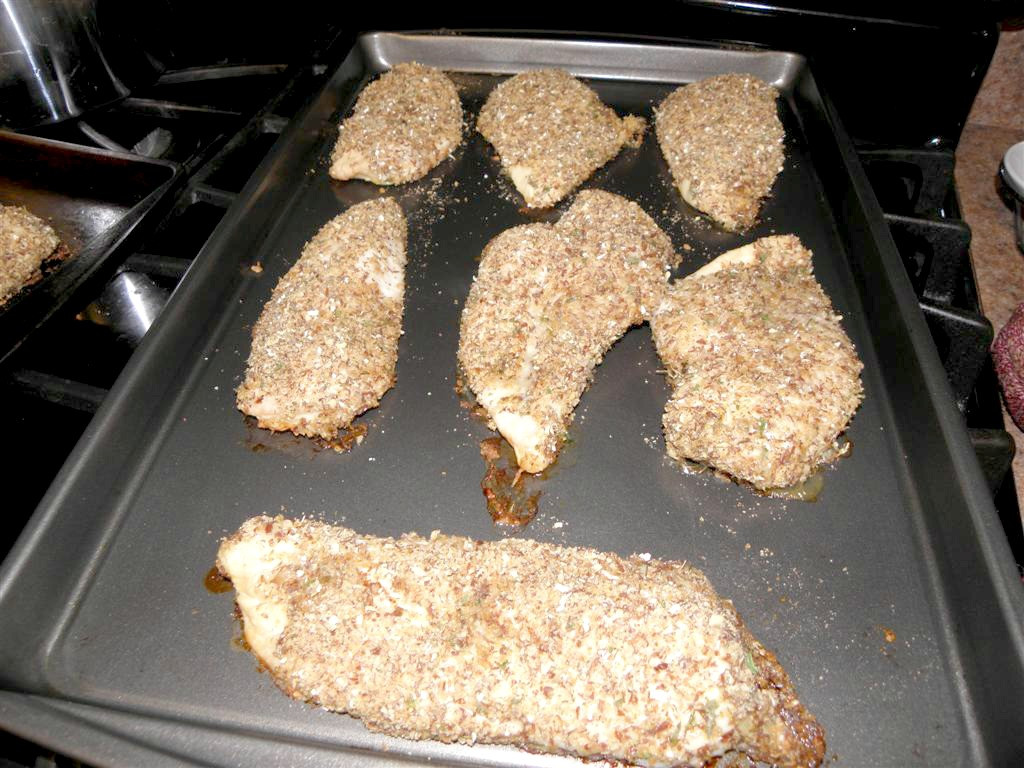 Baked Parmesan Crusted Chicken  Parmesan Crusted Freezer Friendly Baked Chicken Breasts