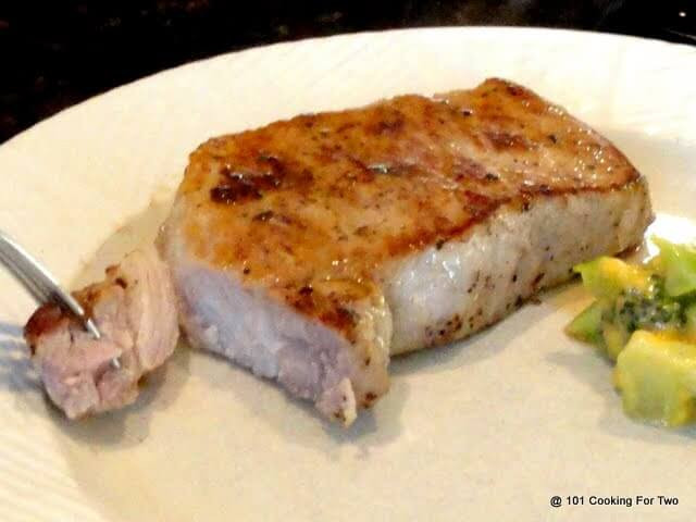 Baked Pork Loin Chops  Pan Seared Oven Roasted Pork Chops from Loin