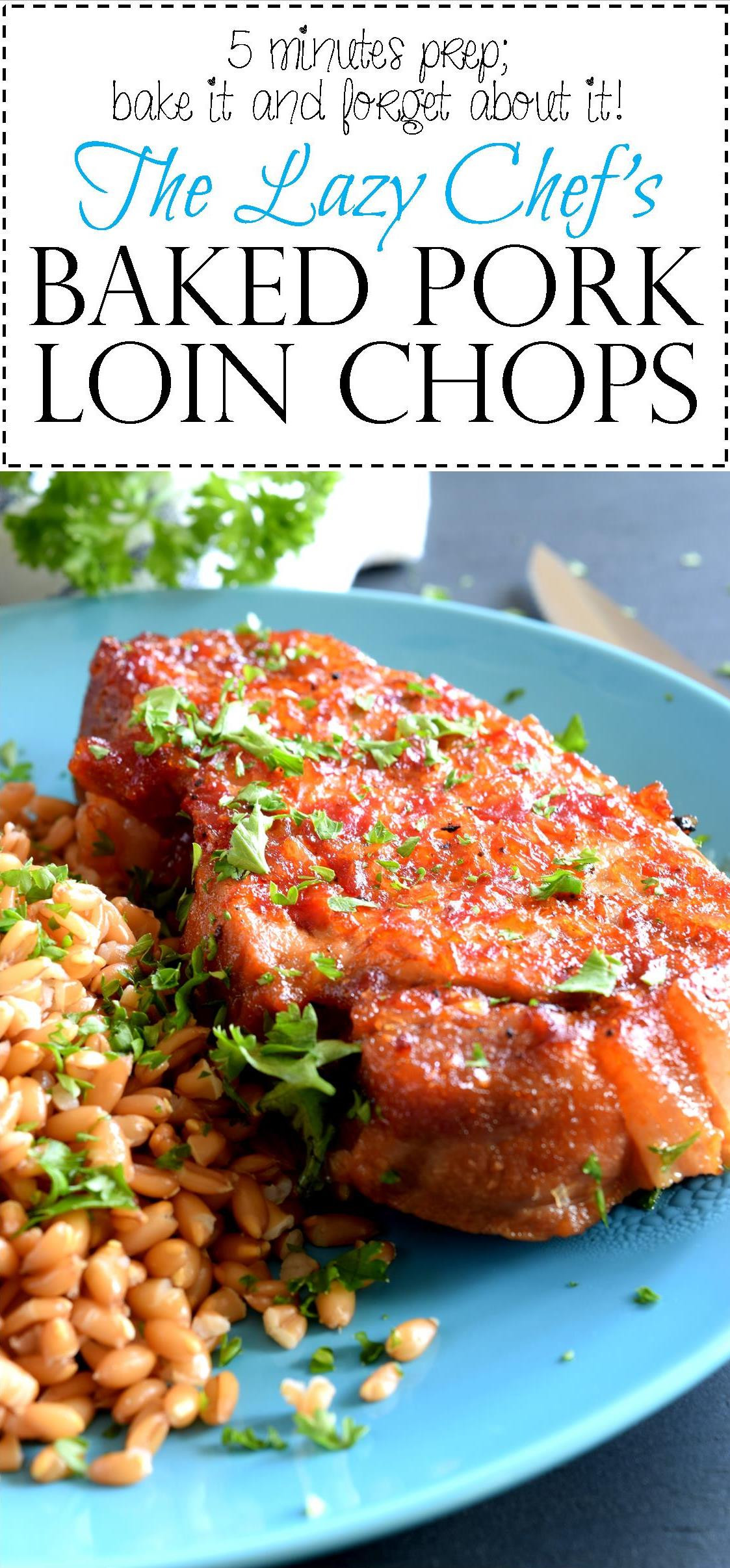 Baked Pork Loin Chops  Baked Pork Loin Chops Lord Byron s Kitchen