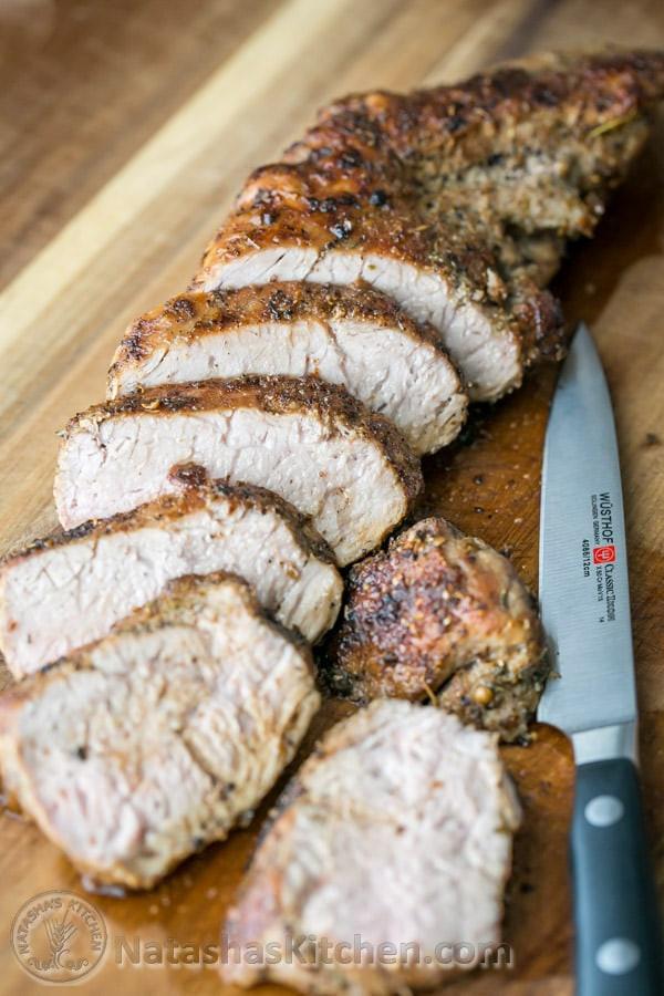 Baked Pork Tenderloin  Pork Tenderloin Recipe Roasted Pork Tenderloin