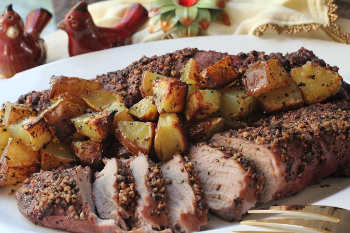 Baked Pork Tenderloin  baked pork loin recipes