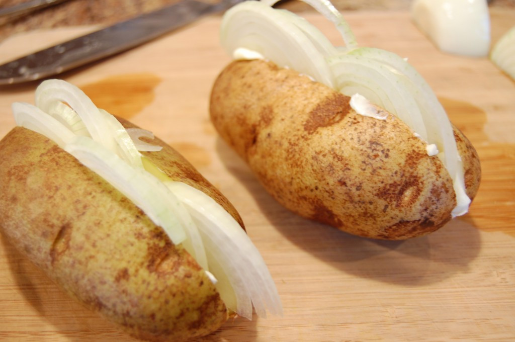 Baked Potato 400  Baked Potatoes with ions Eat at Home
