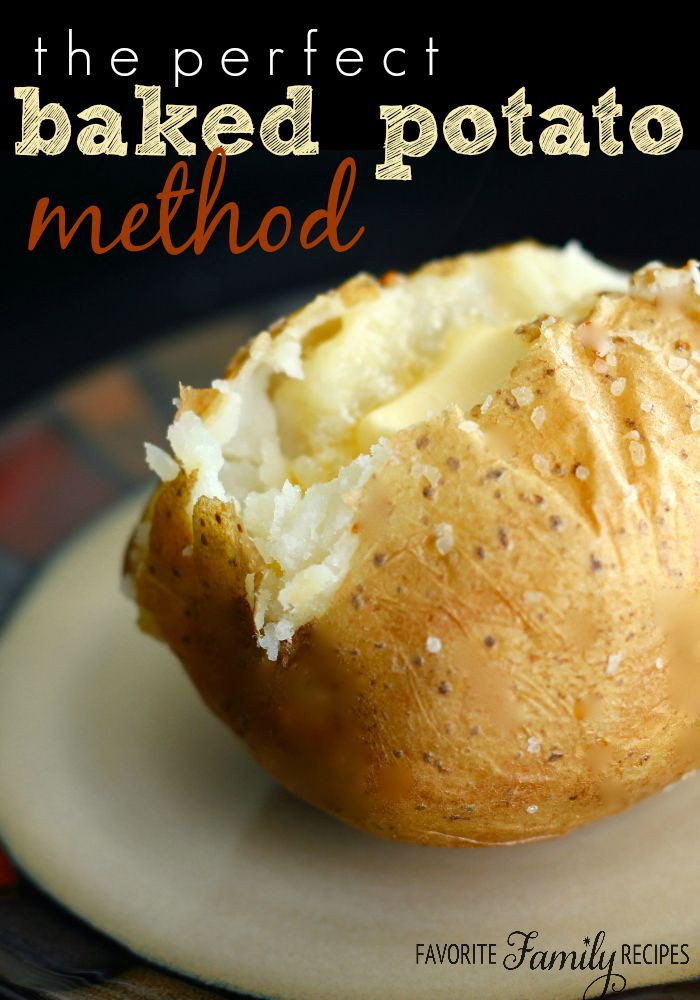 Baked Potato Alton Brown  I know this recipe may seem a little well basic but