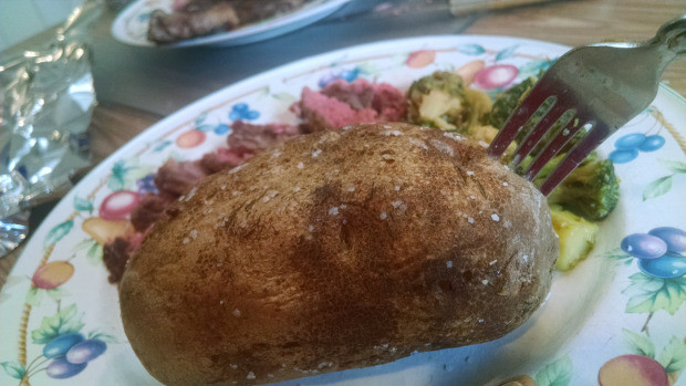 Baked Potato Alton Brown  Learning The Perfect Baked Potato – Alton Brown Good Eats