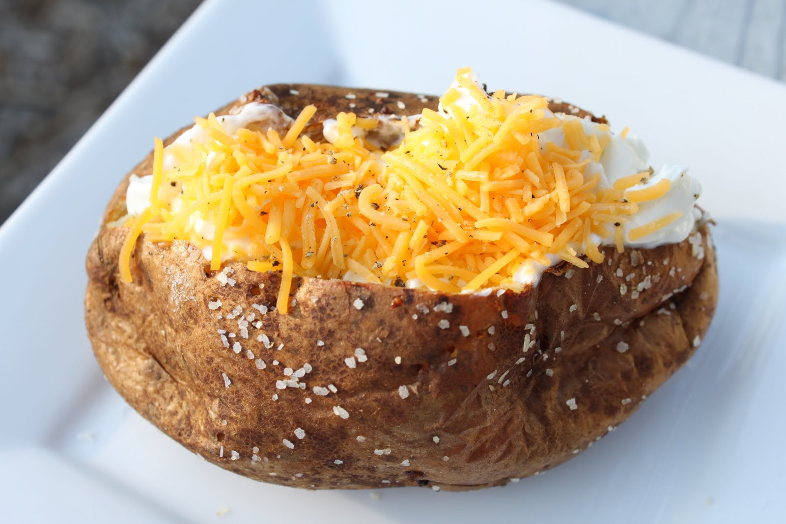 Baked Potato Alton Brown  Erin s Eatery