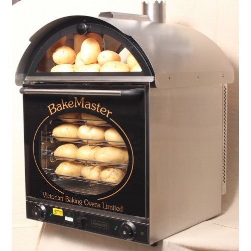 Baked Potato Convection Oven  Bakemaster Convection Oven Twin Fan Potato Oven Stainless