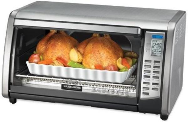 Baked Potato Convection Oven  Black & Decker CTO6301 Toaster Ovens Reviews