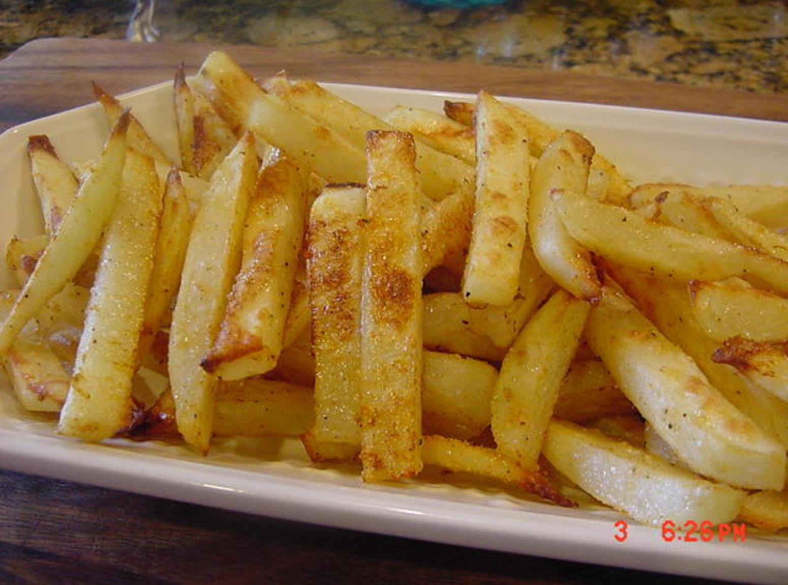 Baked Potato Fries  Best Oven Baked Fries And Potato Wedges Recipe 2