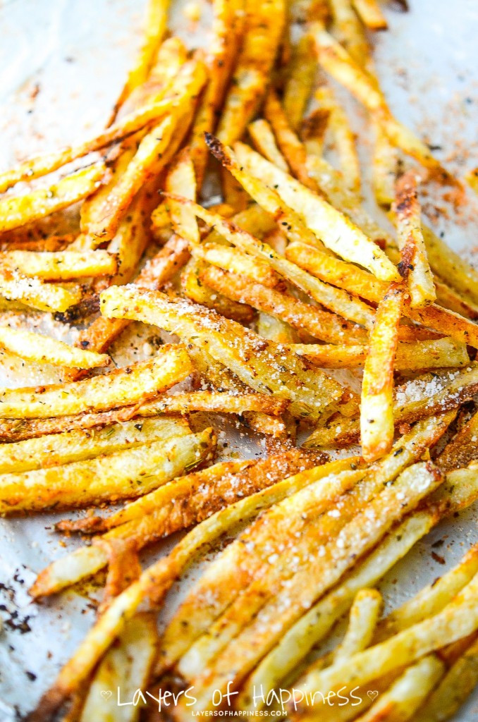 Baked Potato Fries  Extra Crispy Oven Baked French Fries – Recipes for