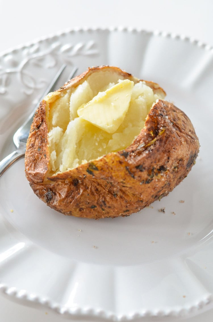 Baked Potato In Air Fryer  Air Fryer Baked Potato Courtney s Sweets