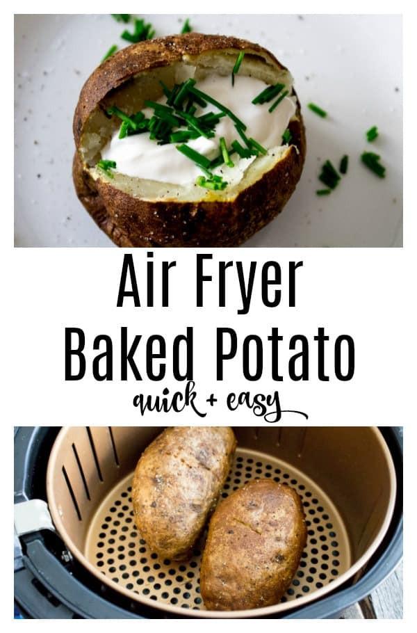 Baked Potato In Air Fryer  Foolproof Air Fryer Baked Potatoes
