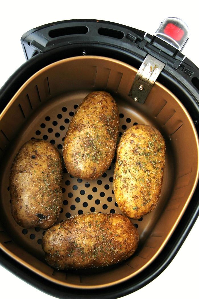 Baked Potato In Air Fryer  Easy Air Fryer Baked Potatoes Bitz & Giggles