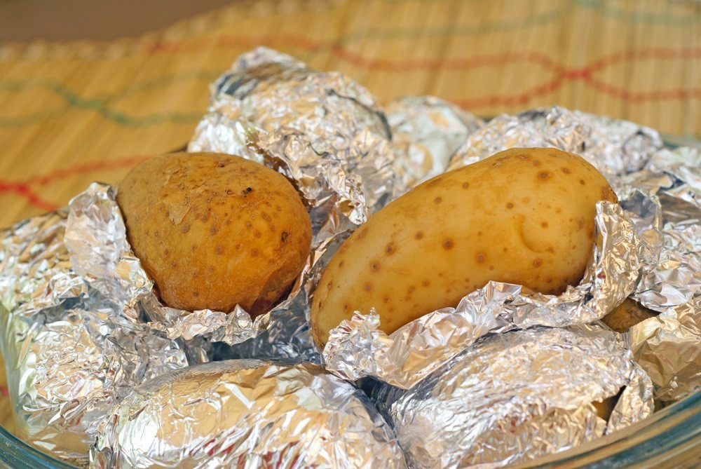 Baked Potato In Foil  Radiant Barriers According To The Experts Smart Energy