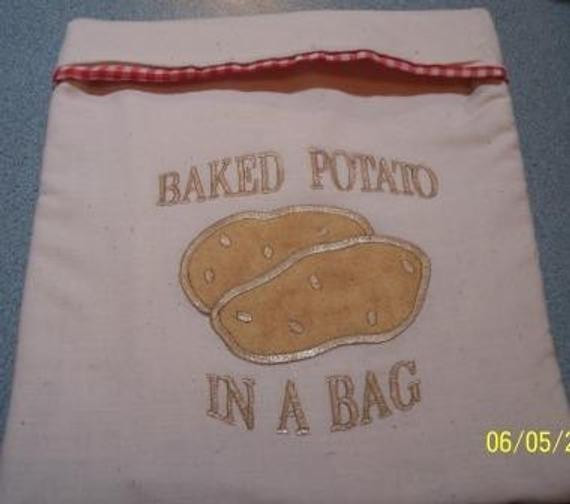 Baked Potato In Microwave Ziplock Bag  Baked Potato in A Bag Microwave Potato Baker