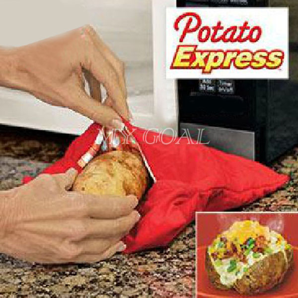 Baked Potato In Microwave Ziplock Bag  Microwave Baked Potato Cooking Bag Express 4 Minutes Fast
