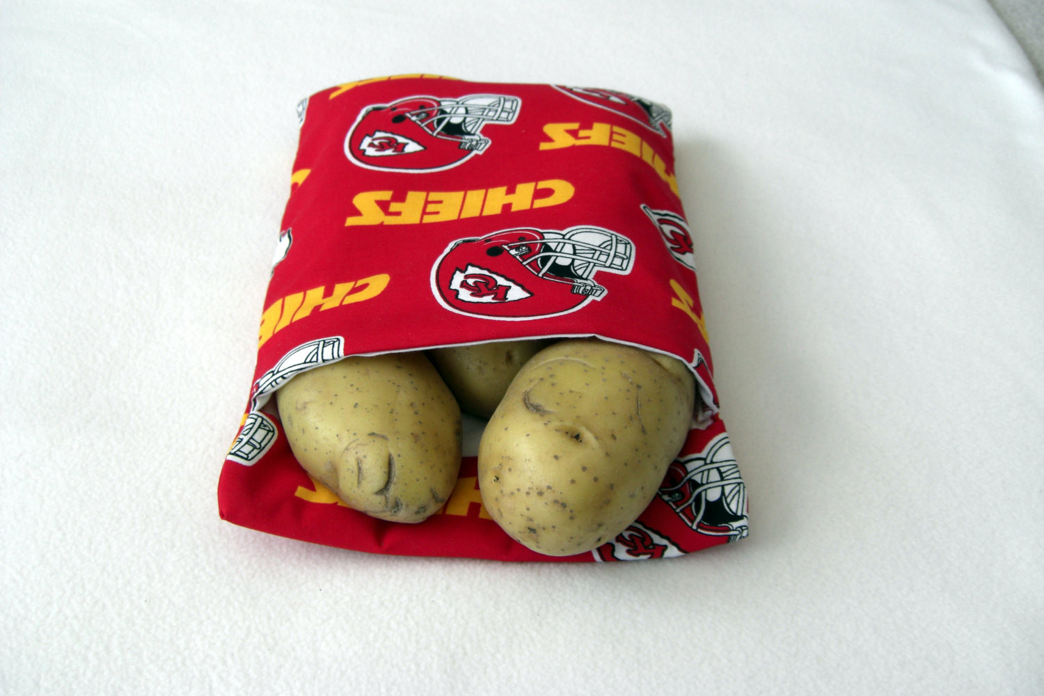 Baked Potato In Microwave Ziplock Bag  Kansas City Chiefs Microwave Baked Potato Bag