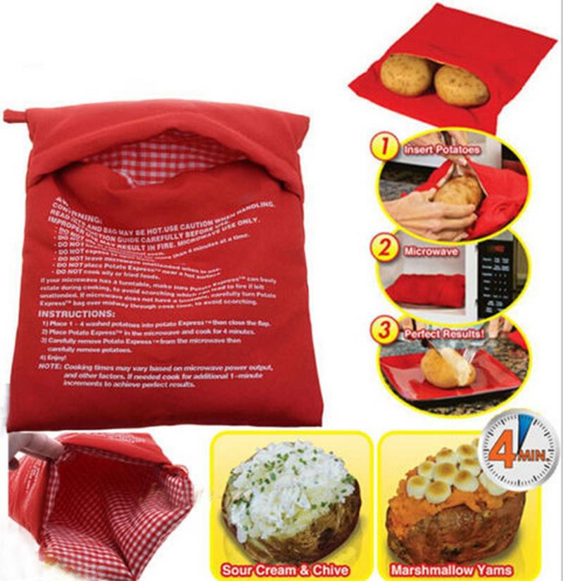 Baked Potato In Microwave Ziplock Bag  Potato Baking Bag Reviews line Shopping Potato Baking
