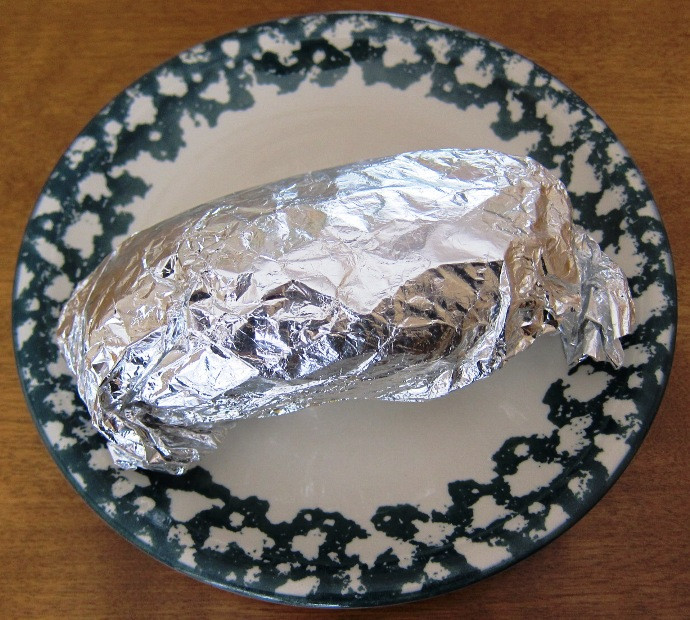 Baked Potato In Oven Wrapped In Foil  Foil Wrapped Oven Baked Potato Recipe – Melanie Cooks