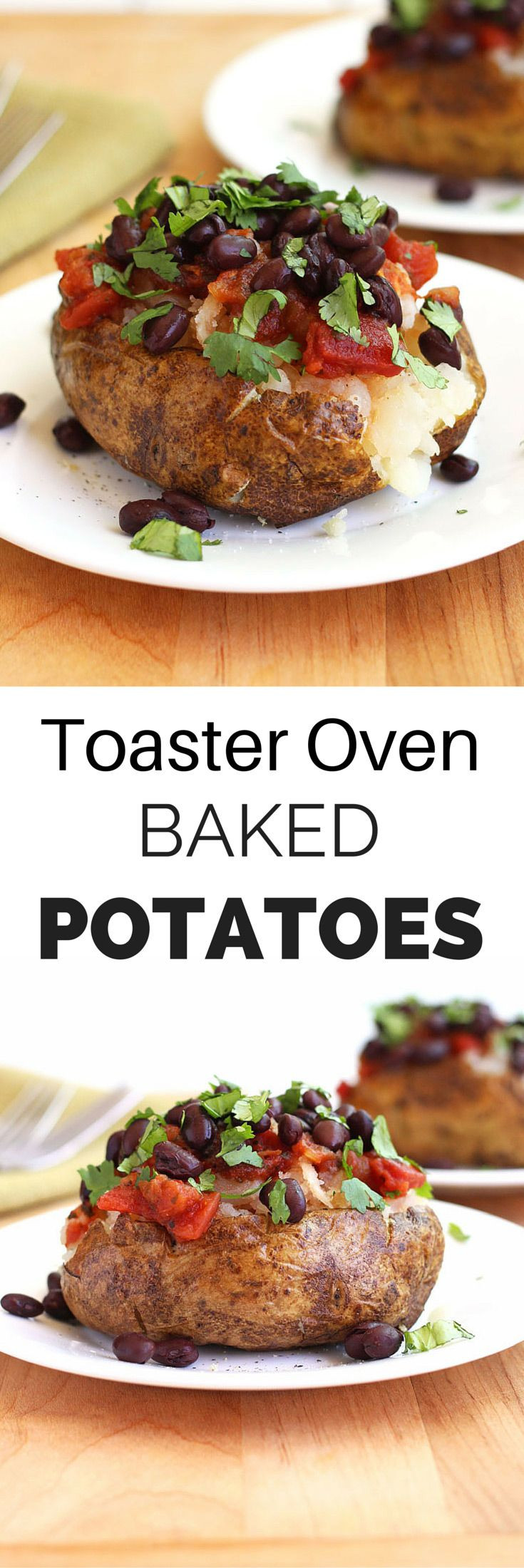 Baked Potato In Toaster Oven  How To Toaster Oven Baked Potatoes Recipe